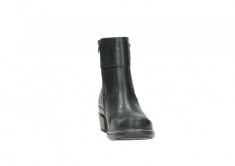 wolky ankle boots 00478 arriba 50730 forest green oiled leather_18