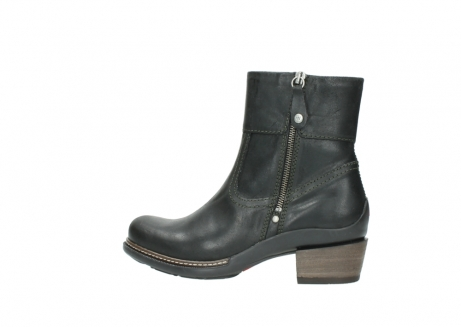 wolky ankle boots 00478 arriba 50730 forest green oiled leather_2