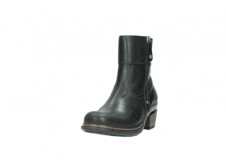 wolky ankle boots 00478 arriba 50730 forest green oiled leather_21
