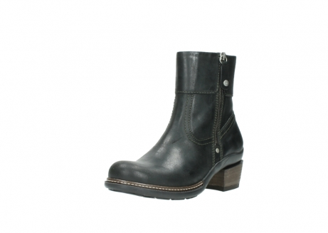 wolky ankle boots 00478 arriba 50730 forest green oiled leather_22