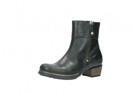 wolky ankle boots 00478 arriba 50730 forest green oiled leather_23