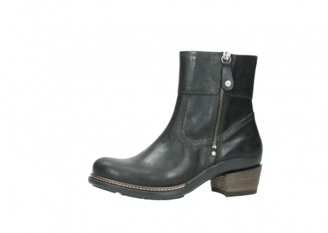 wolky ankle boots 00478 arriba 50730 forest green oiled leather_24