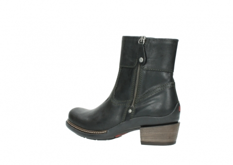 wolky ankle boots 00478 arriba 50730 forest green oiled leather_3