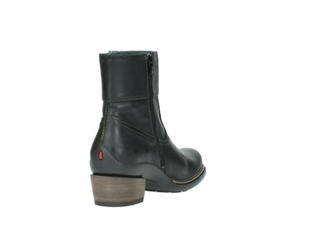 wolky ankle boots 00478 arriba 50730 forest green oiled leather_9