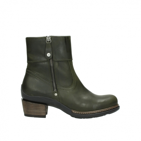 wolky ankle boots 00478 arriba 51732 forestgreen leather