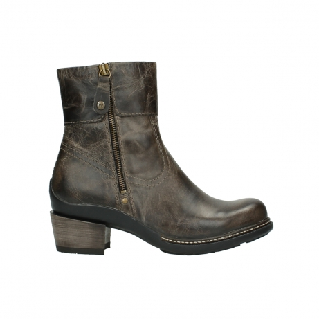 wolky ankle boots 00478 arriba 80150 taupe leather
