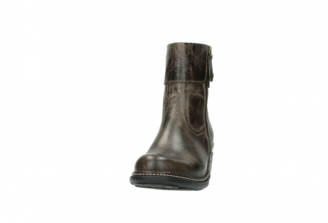 wolky ankle boots 00478 arriba 80150 taupe leather_20