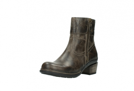 wolky ankle boots 00478 arriba 80150 taupe leather_22