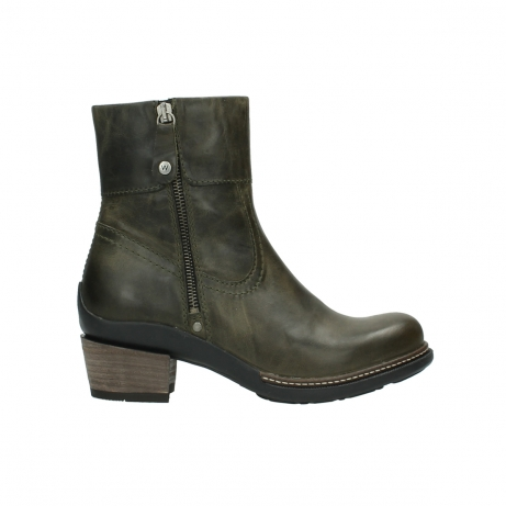 wolky ankle boots 00478 arriba 80730 forest green leather