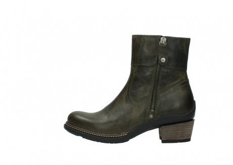 wolky ankle boots 00478 arriba 80730 forest green leather_1