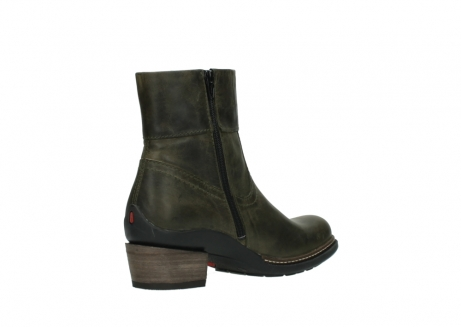 wolky ankle boots 00478 arriba 80730 forest green leather_10