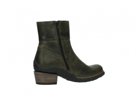 wolky ankle boots 00478 arriba 80730 forest green leather_11