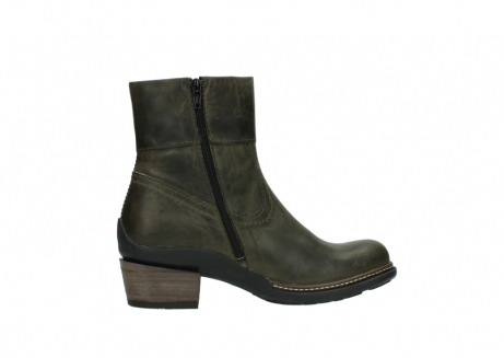 wolky ankle boots 00478 arriba 80730 forest green leather_12