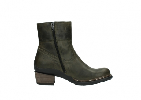 wolky ankle boots 00478 arriba 80730 forest green leather_13