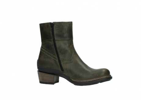 wolky ankle boots 00478 arriba 80730 forest green leather_14