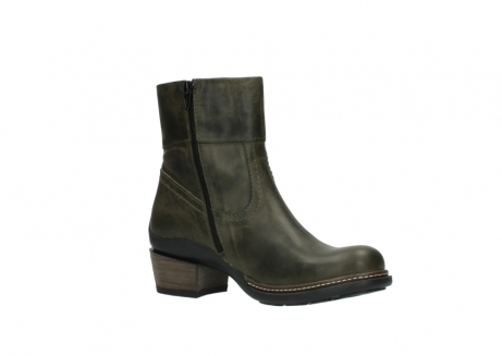 wolky ankle boots 00478 arriba 80730 forest green leather_15