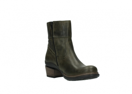 wolky ankle boots 00478 arriba 80730 forest green leather_16