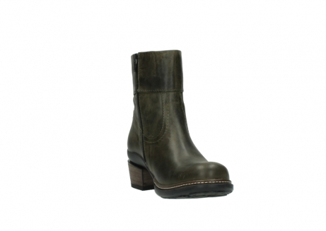 wolky ankle boots 00478 arriba 80730 forest green leather_17