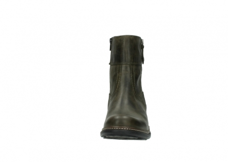 wolky ankle boots 00478 arriba 80730 forest green leather_19