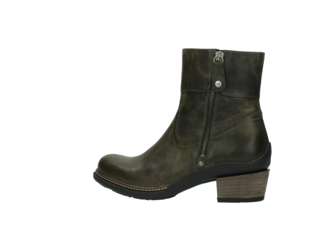 wolky ankle boots 00478 arriba 80730 forest green leather_2