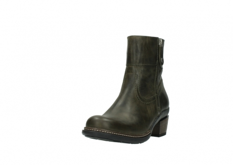 wolky ankle boots 00478 arriba 80730 forest green leather_21
