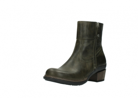 wolky ankle boots 00478 arriba 80730 forest green leather_22