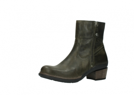 wolky ankle boots 00478 arriba 80730 forest green leather_23