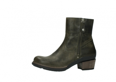 wolky ankle boots 00478 arriba 80730 forest green leather_24