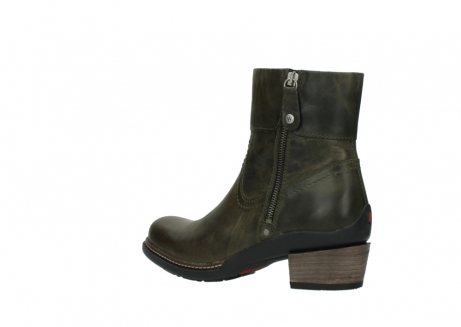 wolky ankle boots 00478 arriba 80730 forest green leather_3