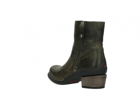 wolky ankle boots 00478 arriba 80730 forest green leather_4