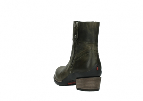 wolky ankle boots 00478 arriba 80730 forest green leather_5