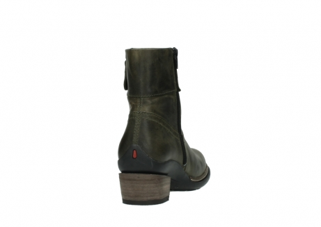 wolky ankle boots 00478 arriba 80730 forest green leather_8