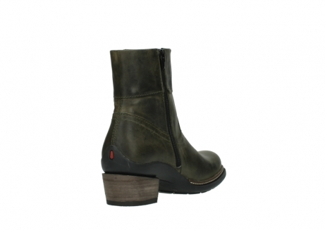 wolky ankle boots 00478 arriba 80730 forest green leather_9