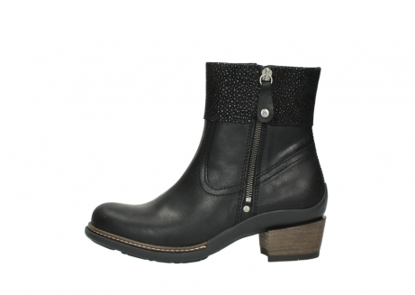 wolky ankle boots 00479 arriba cw 51002 black leather_1