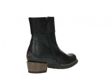 wolky ankle boots 00479 arriba cw 51002 black leather_10