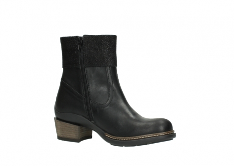wolky ankle boots 00479 arriba cw 51002 black leather_15