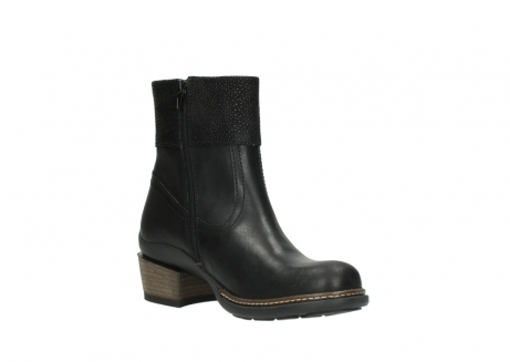 wolky ankle boots 00479 arriba cw 51002 black leather_16