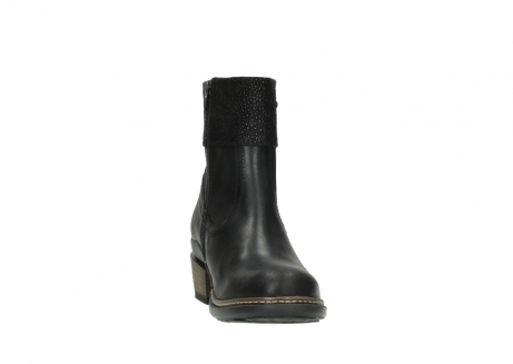 wolky ankle boots 00479 arriba cw 51002 black leather_18