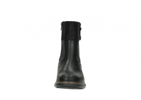 wolky ankle boots 00479 arriba cw 51002 black leather_19