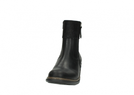 wolky ankle boots 00479 arriba cw 51002 black leather_20