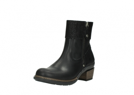 wolky ankle boots 00479 arriba cw 51002 black leather_22