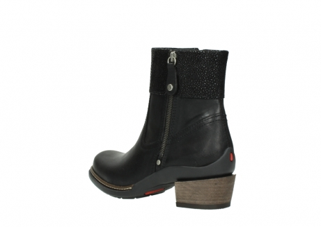 wolky ankle boots 00479 arriba cw 51002 black leather_4