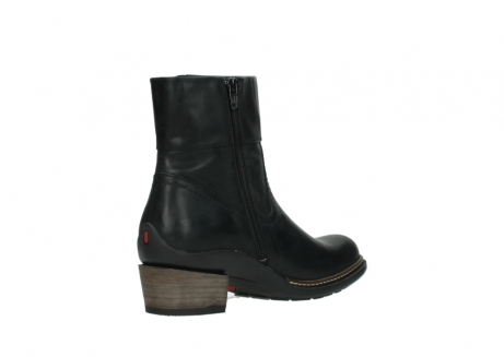 wolky ankle boots 00479 arriba cw 80000 black leather cold winter warm lining_10