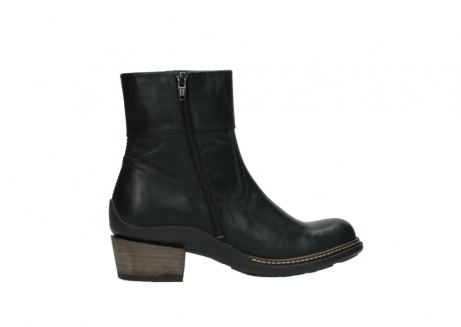 wolky ankle boots 00479 arriba cw 80000 black leather cold winter warm lining_12