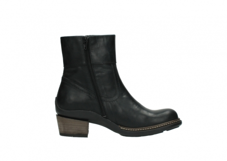 wolky ankle boots 00479 arriba cw 80000 black leather cold winter warm lining_13
