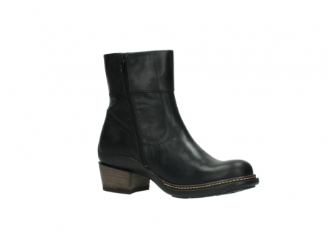 wolky ankle boots 00479 arriba cw 80000 black leather cold winter warm lining_15