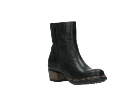 wolky ankle boots 00479 arriba cw 80000 black leather cold winter warm lining_16