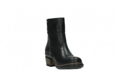 wolky ankle boots 00479 arriba cw 80000 black leather cold winter warm lining_17
