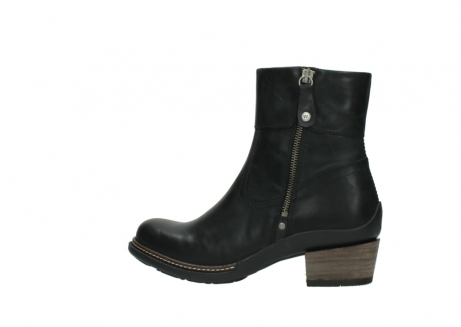 wolky ankle boots 00479 arriba cw 80000 black leather cold winter warm lining_2