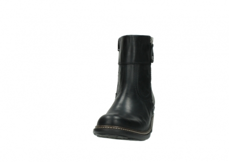 wolky ankle boots 00479 arriba cw 80000 black leather cold winter warm lining_20